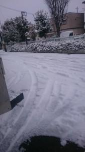 2016年度の福知山市の雪景色