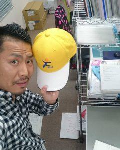 福知山市民マラソンの帽子