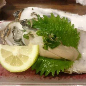 宇久の生牡蠣