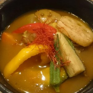 菜食玄美・福知山のスープカレー