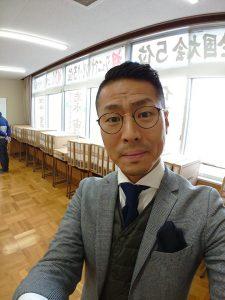 桃映中学校の学生服・制服販売日の写真
