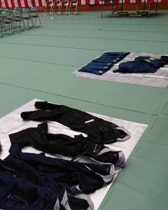 職業訓練校の作業服