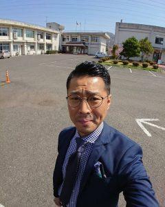 福知山の職業訓練校の玄関