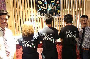 居酒屋NIWA様の名入れTシャツ