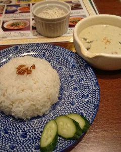 タイ料理グリーンカレー